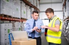 Warehouse Manager and Worker
